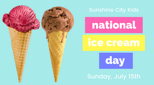 National Ice Cream Day St. Petersburg, Florida