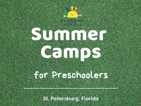 Summer Camps for Preschoolers