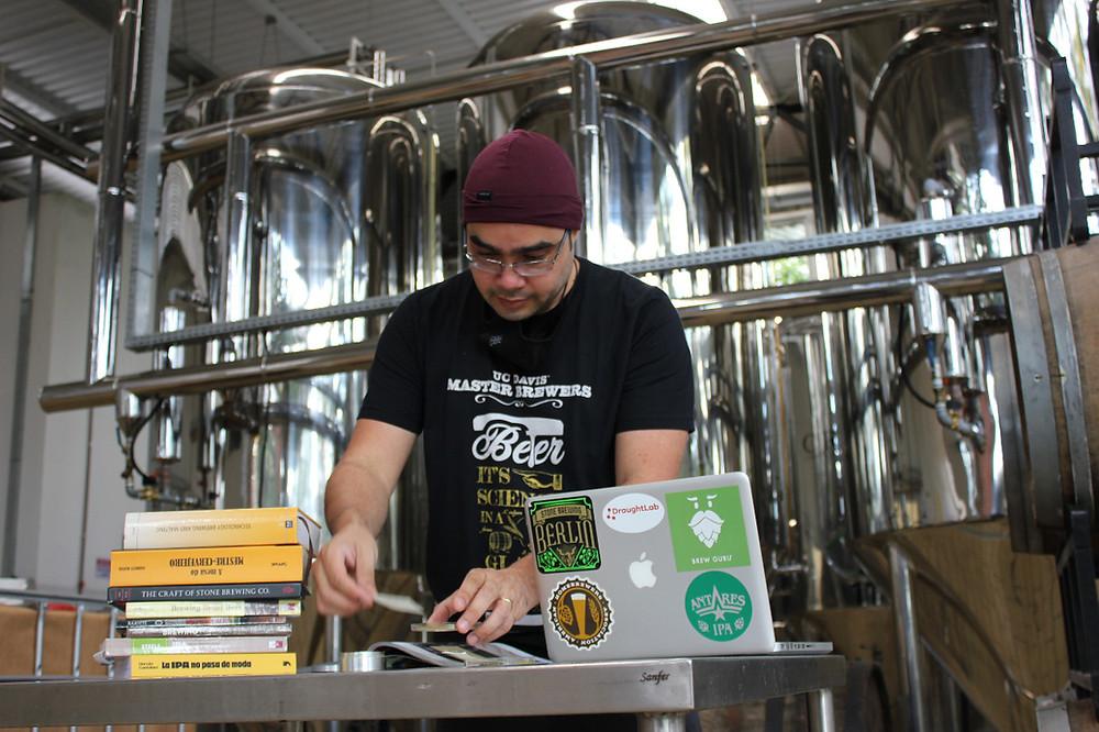 Criação de receitas de cerveja