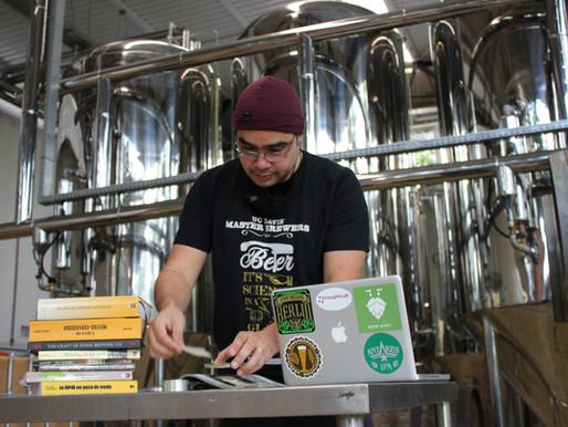 A trilha de novas cervejas