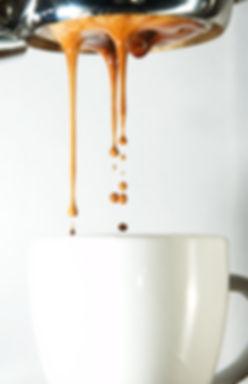 espresso fresh coffee dripping