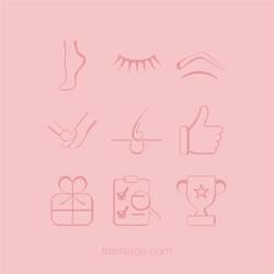 иконки для салона красоты