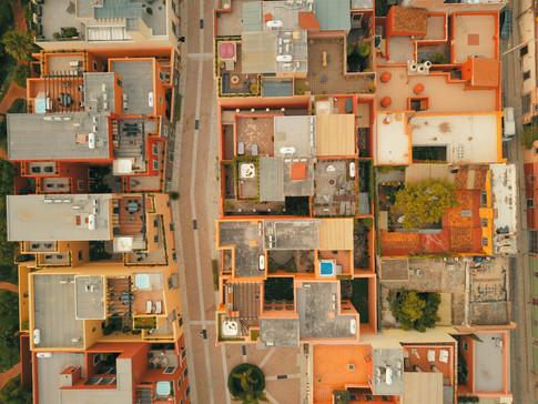 Aerial photo buildings 2