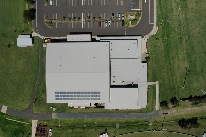 Asset inspection aerial photo
