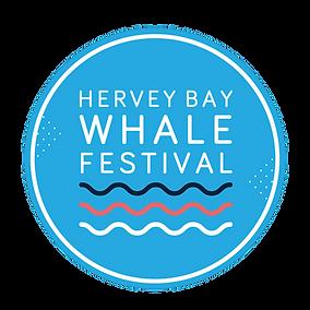 Hervey Bay Whale festival logo