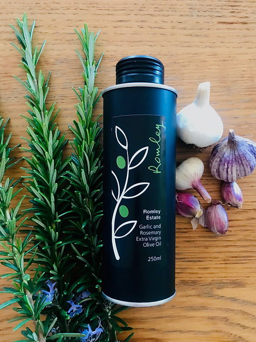 Garlic and Rosemary Olive Oil
