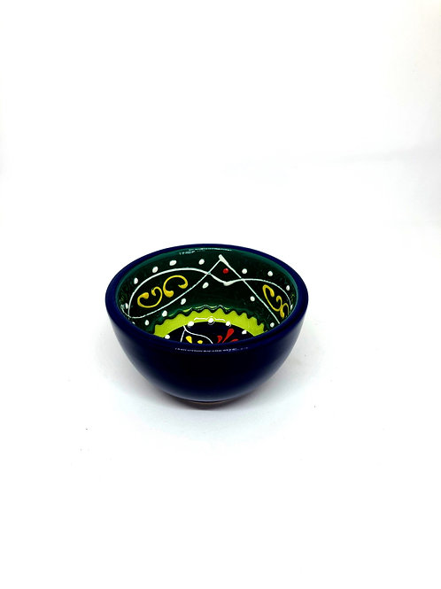 Ceramic Collection - Dipping Bowl 'Green Top'