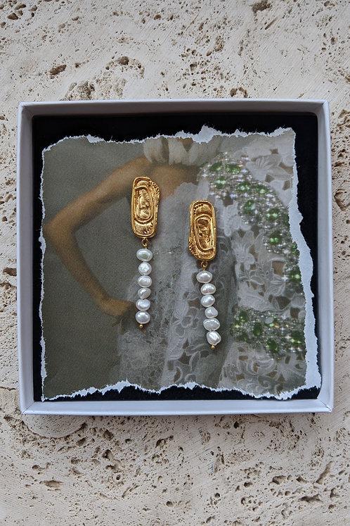 WS — The Little Minoan Earrings * from *
