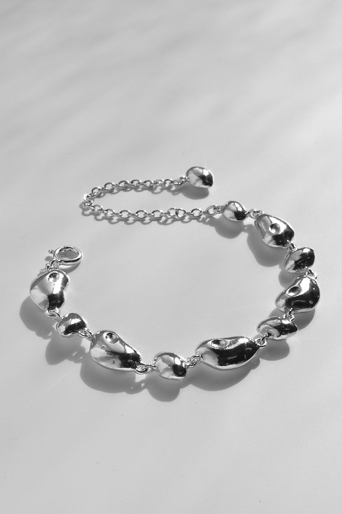 The Slow Song Bracelet Eco-friendly Silver