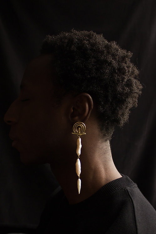 The Three Dancers Earring (single)