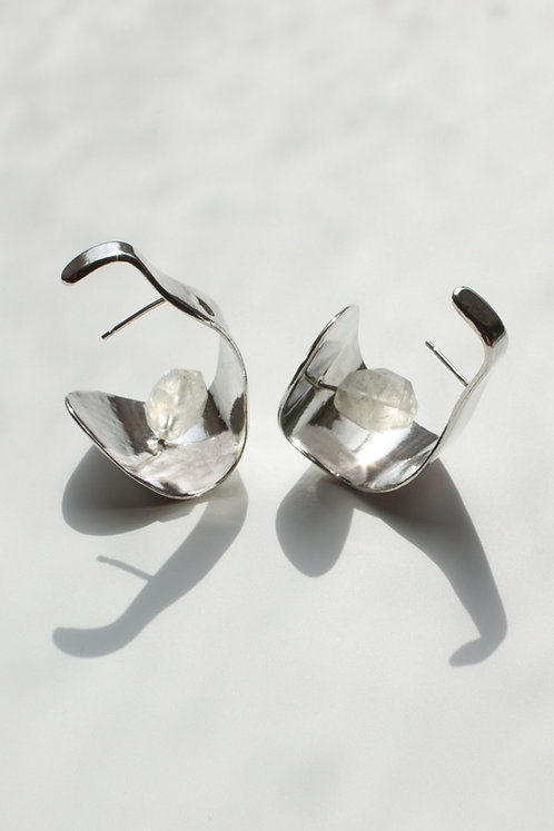 The Secret Song Earrings Eco-friendly Silver