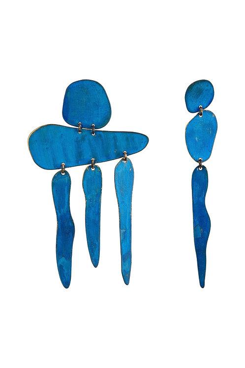 WS — Gia Fall Earrings in Blue