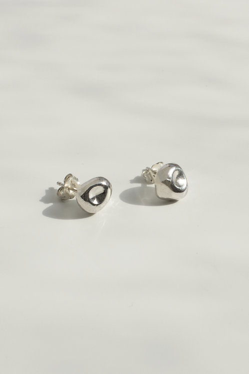 The Hush Studs Eco-friendly Silver