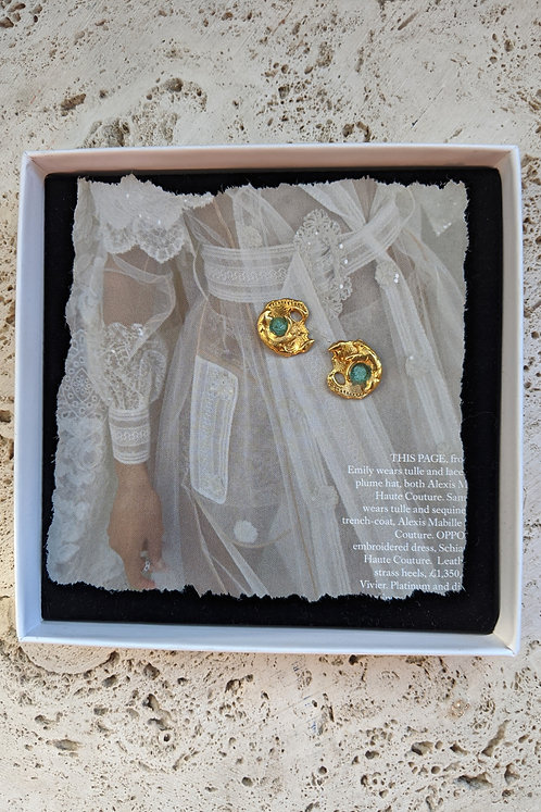 The Moon of Iris Earrings * from *