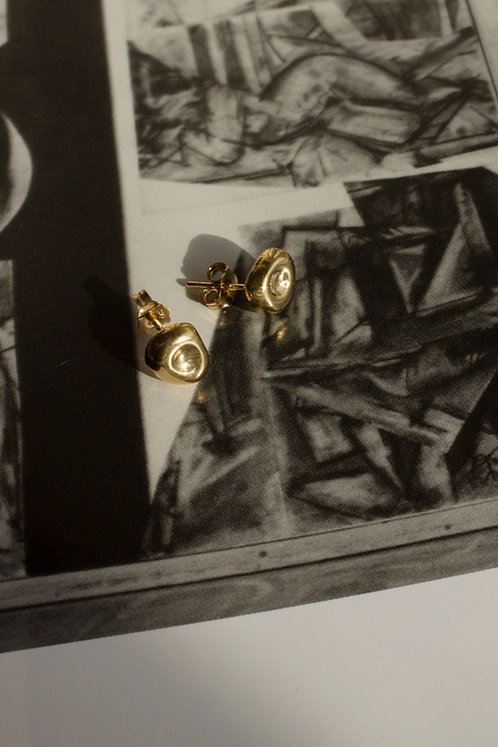 The Hush Studs Ethical Gold Plated