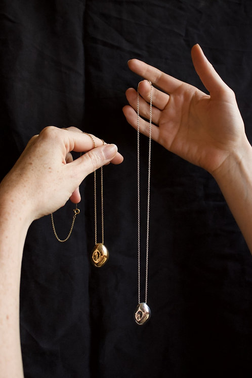The Echo Pendant Ethical Gold Plated