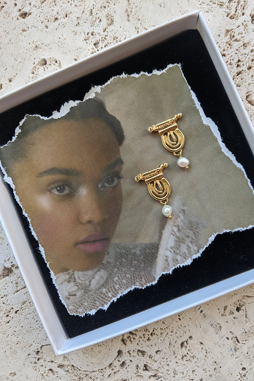 The Iris Earrings * from *