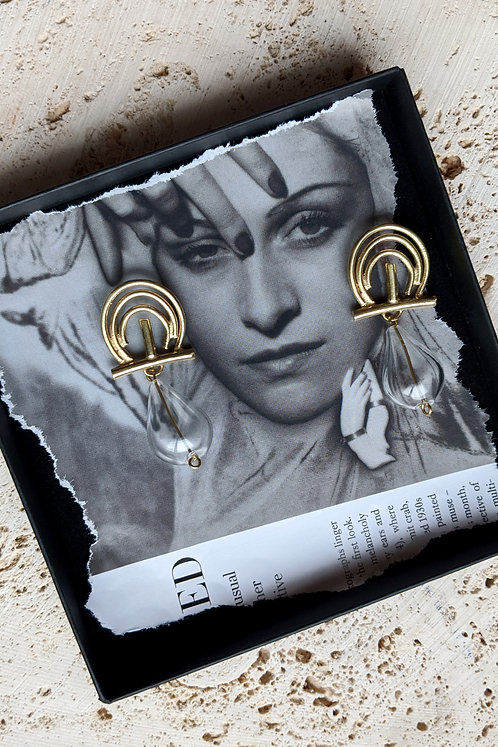 The Mirror Mirror Earrings
