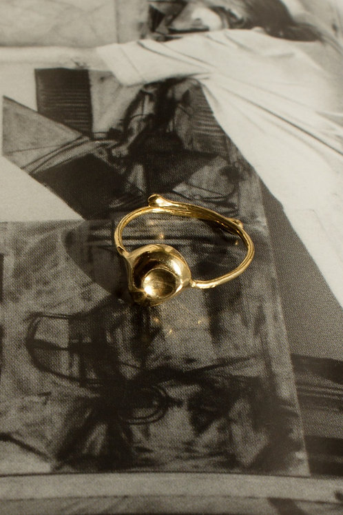 The Hush Ring Ethical Gold Plated
