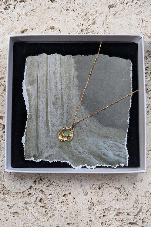 The Moon of Iris Pendant