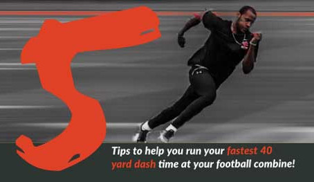 5 Tips to Improve Your 40 Yard Dash