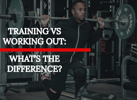 Training Vs Working Out: What's the Difference