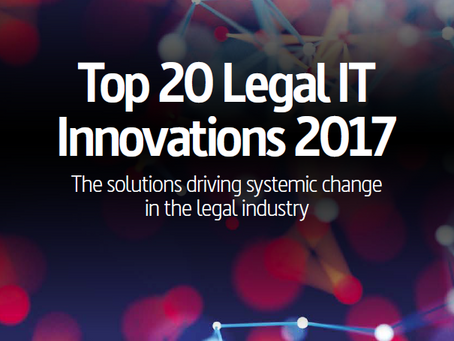 Top 20 Legal IT Innovations 2017: PitchPerfect