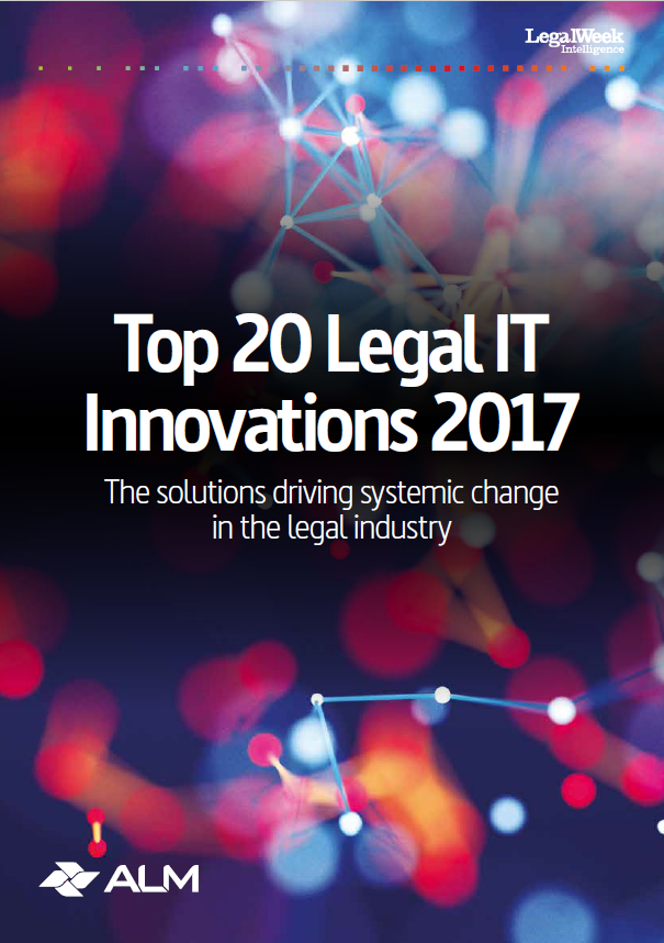 Top 20 Legal IT Innovations 2017 PitchPerfect