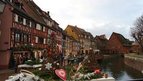 Colmar, France-Noel Pazarları