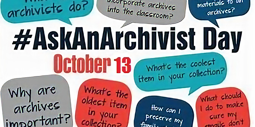 #AskAnArchivist Day!