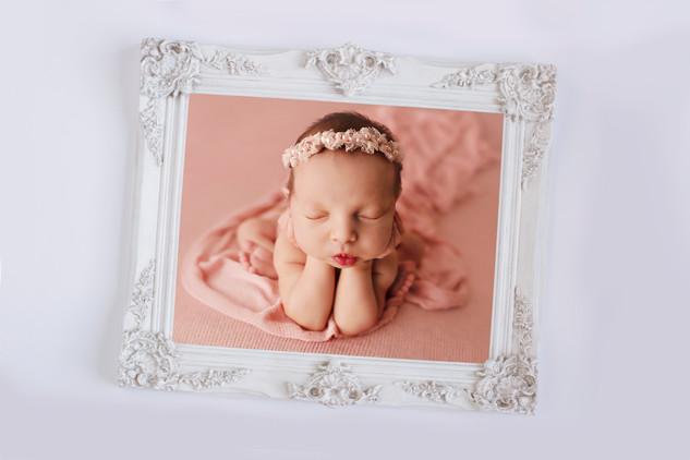 Wall Frame - White2 newborn.jpg