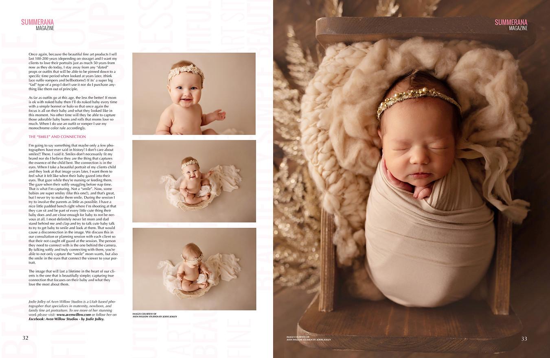 published newborn photographer utah