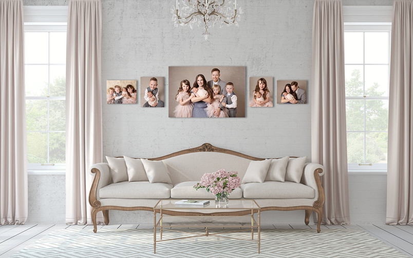 family picture canvas