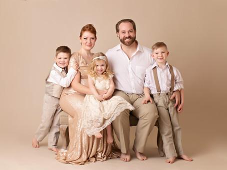 Utah Family Portrait Session
