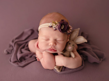Sweet, sweet dreamer - Utah Newborn Session