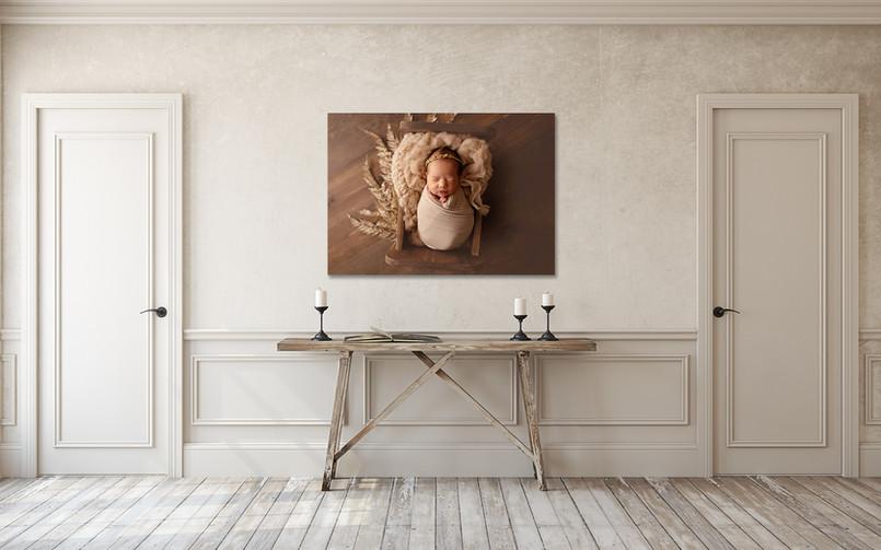 newborn wall canvas
