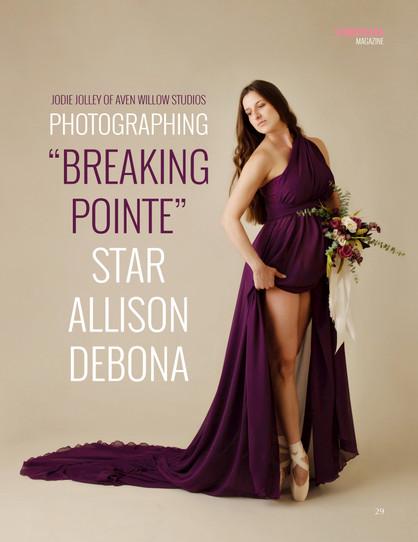 Allison Debona ballerina