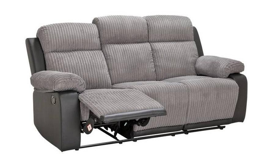 Bradley 3 Seater Fabric Recliner Sofa