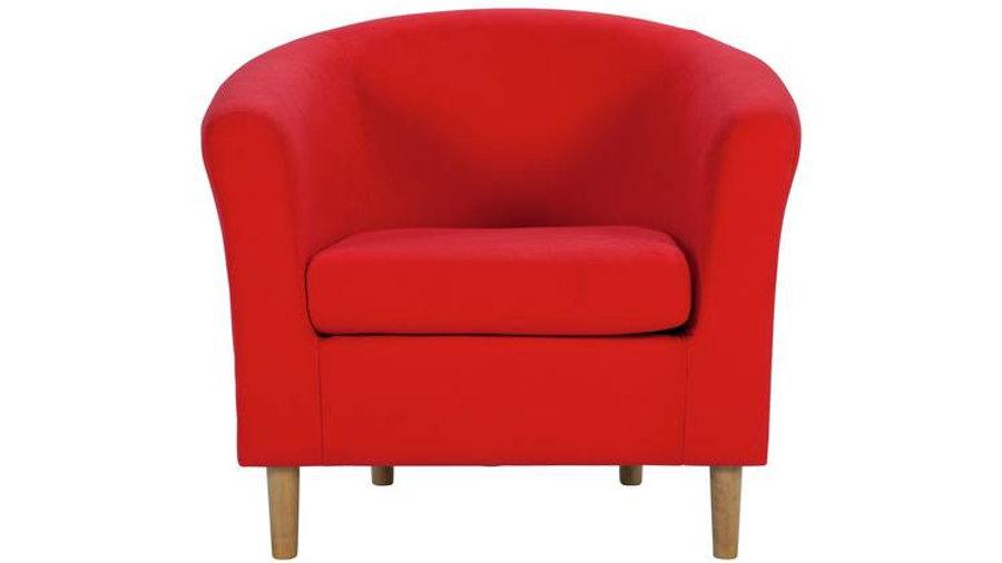 Habitat Fabric Tub Chair