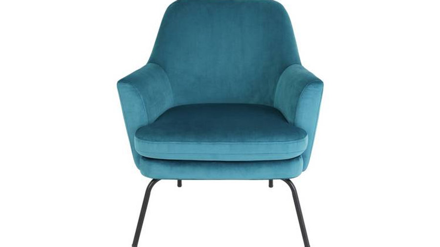 Habitat Celine Velvet Accent Chair