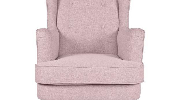 Callie Wingbackchair Blush Pink