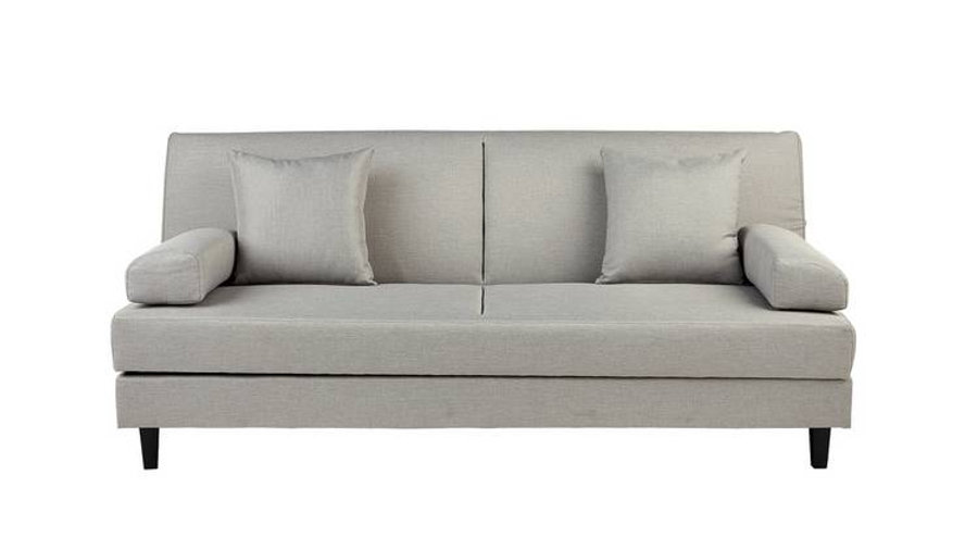 Chase Clic Clac Storage Sofabed Light Grey