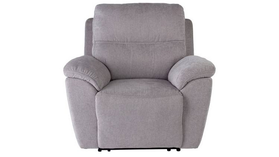 Sandy Recliner Chair Silver
