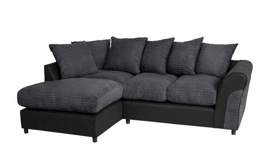 Harry Large Left Corner Fabric Sofa