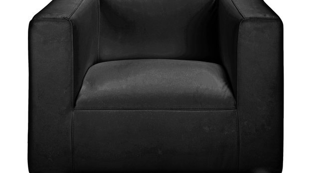 Moda leather Chair Black