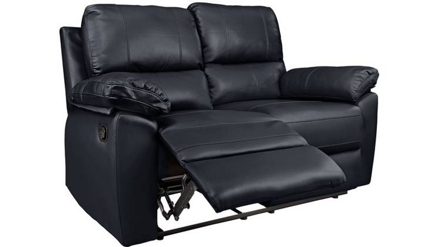 Toby 2 Seater Faux Leather Recliner Sofa