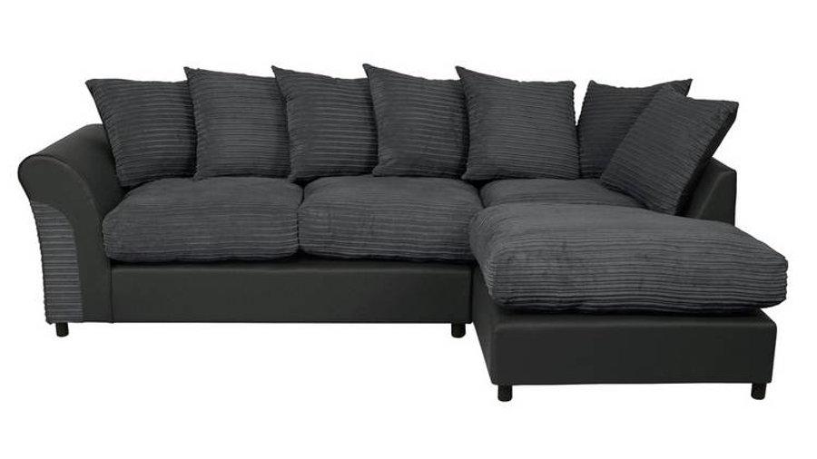 Harry Large Right Corner Fabric Sofa