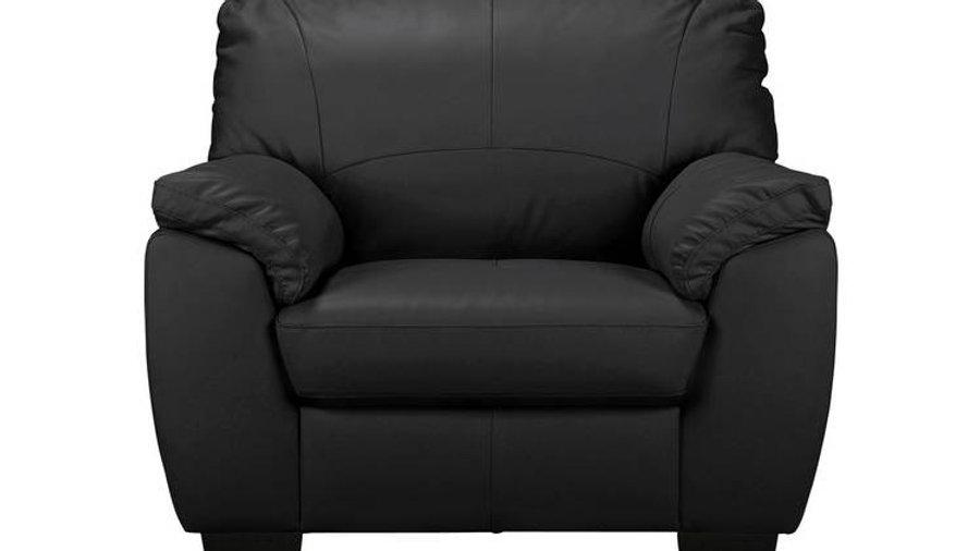 Milano Leather Armchair