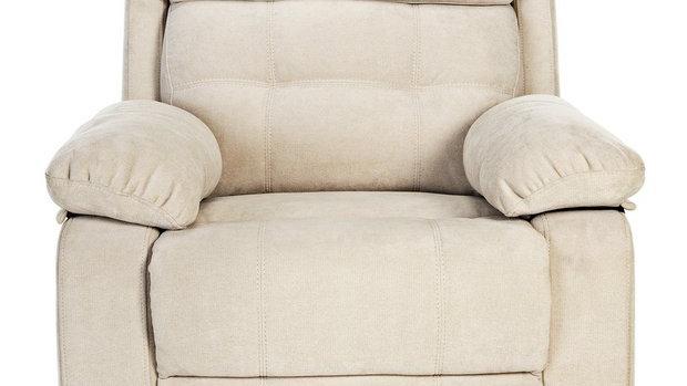 June Fabric Manual Recliner Chair
