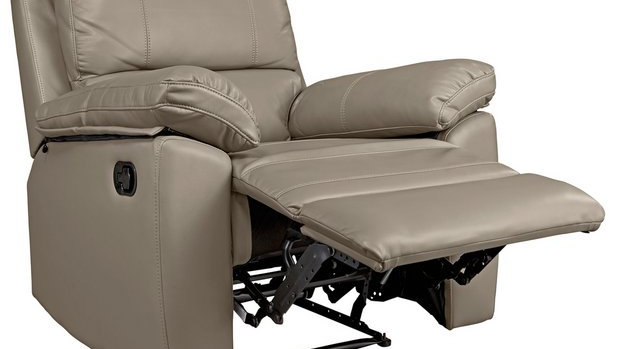 Toby Faux Leather Manual Recliner Chair